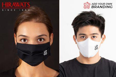 Customized face masks with suitable to the dresses