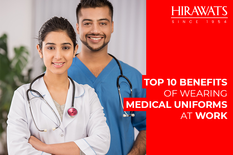 Medical Professionals with uniforms