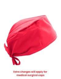 scrub-cap-red