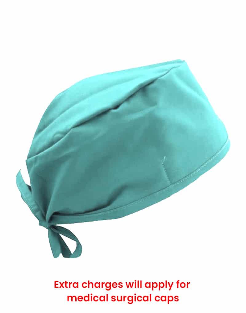 scrub cap sea green