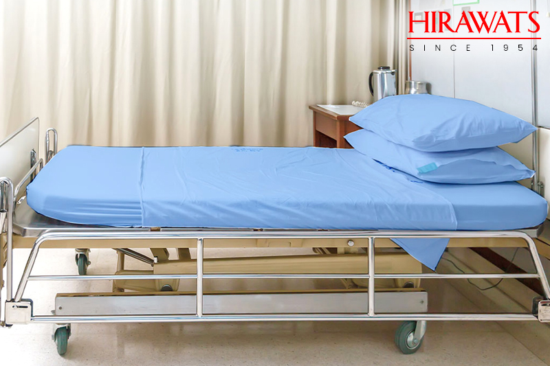 Choose right size bed sheets for hospital beds