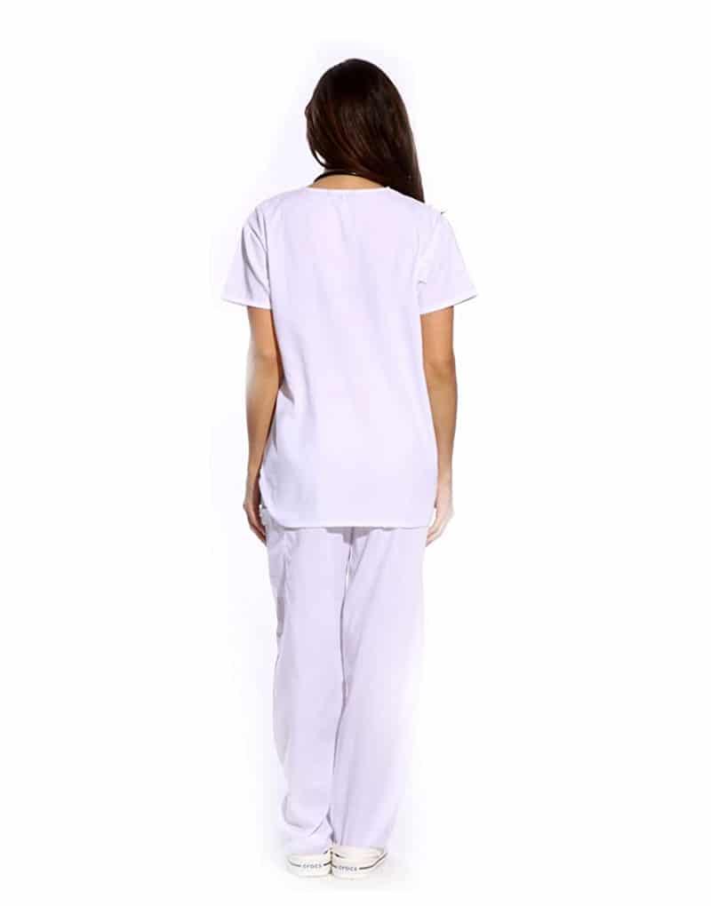 white-medical-scrub-back