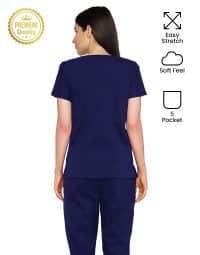 blue-black-easy-strech-scrub-female-back