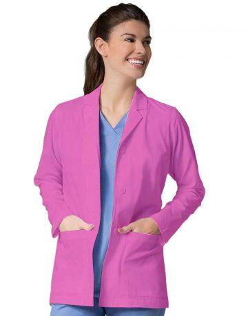 Pink Lab Coat - Full Sleeve