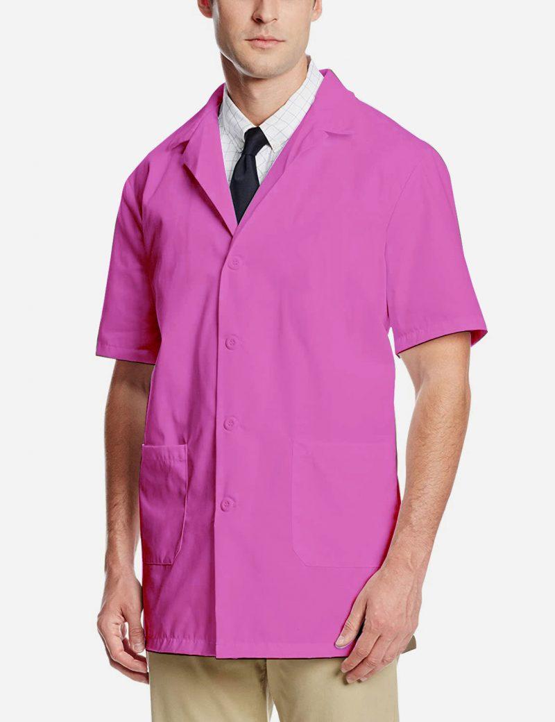 pink lab coat