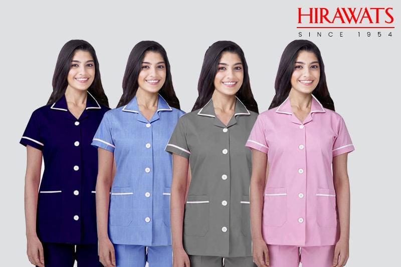 Nurse Uniforms with Multiple Colours
