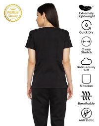 black-athleisure-dry-fit-scrub-female-back