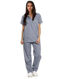 gray-medical-scrubs