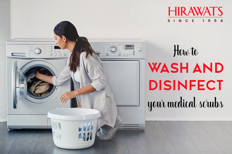 Tips to Wash and Disinfect Your Medical Scrubs