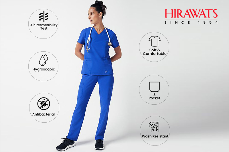 Features of performance scrubs