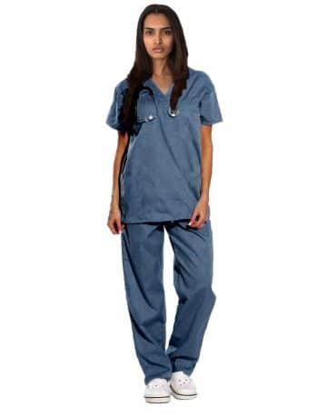Dark Teal Originals Half Sleeve Medical Scrubs