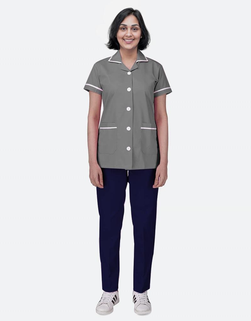 Mix N Match Nurse Uniform - Dark Grey - Navy Blue