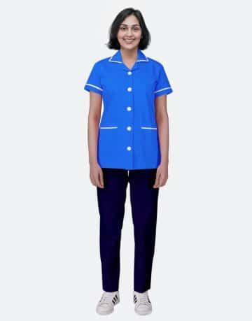 Mix N Match Nurse Uniform - Royal Blue - Navy Blue