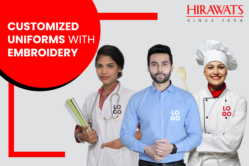 Customized Uniforms with Embroidery